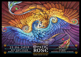 Party Flyer The Mystic Rose 21 Jun '19, 23:00