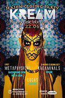 Party Flyer KREAM Closing Party 22 Jun '19, 23:30
