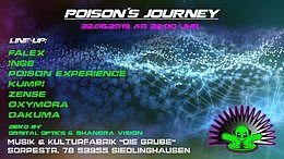 Party Flyer Poison´s Journey // Dirty Dancing (Die Grube) 22 Jun '19, 22:00