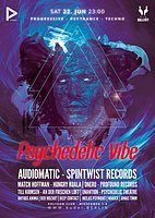 Party Flyer Psychedelic VIBE 22 Jun '19, 23:00