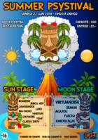 Party Flyer Summer Psystival 22 Jun '19, 11:00