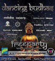 Party Flyer Dancing Budhas 28 Jun '19, 23:30