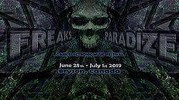 Party Flyer Freaks Paradize Festival 28 Jun '19, 15:00