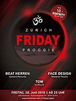 Party Flyer Friday Proggie 28 Jun '19, 23:00