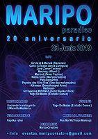 Party Flyer Maripo Summer Paradise 20º aniversario 28 Jun '19, 20:00
