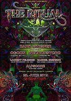 Party Flyer Psybox The Ritual ॐ Dark Whisper Ogoun Necropsycho + more 28 Jun '19, 22:00