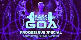 Bassproduction Goa - Progressive Special 29 Jun '19, 22:00
