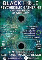 Party Flyer Black Hole Psychedelyc Gathering 3 Jul '19, 22:00