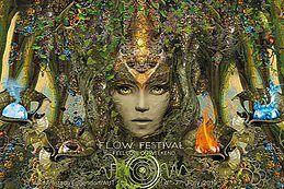 Party Flyer FLOW Festival 2019 - 10 YEARS ANNIVERSARY - Feel Love On Weekend (F.L.O.W.) 4 Jul '19, 20:00