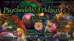 Party Flyer Psychedelic fridays #2 5 Jul '19, 22:00