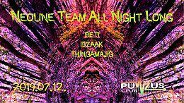NEOliNe Team All Night Long at Pulzus Club 12 Jul '19, 22:00