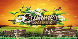 Party Flyer ॐ °•SUMMER VIBEZ•° ॐ Open Air & Indoor 13 Jul '19, 18:00