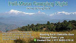Party Flyer Fullmoon Camping Night 16 Jul '19, 22:00
