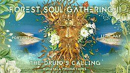 Party Flyer Forest Soul Gathering 2019 - The Druid's Calling 17 Jul '19, 16:00