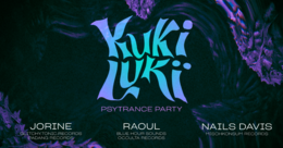 Party Flyer KukiLuki – psytrance party 18 Jul '19, 23:30