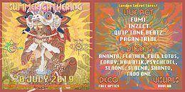 Party Flyer Prakrti Shakti & Dionysia Summer Gathering 20 Jul '19, 22:00