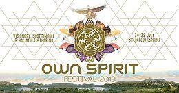 Party Flyer OWN SPIRIT FESTIVAL 2019 24 Jul '19, 12:00