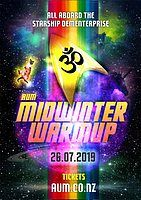 Party Flyer AUM ॐ Midwinter warmup 26 Jul '19, 19:00