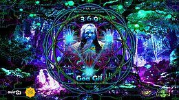 Party Flyer ॐ Goa Gil & Ariane - Trance Dance Initiation - 24 hours or more ... Open Air ॐ 26 Jul '19, 13:00