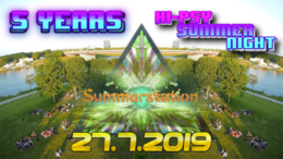 Party Flyer 5 Years - BBash Party Bumbum 27 Jul '19, 14:00