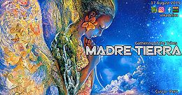 Party Flyer Madre Tierra - Gathering of the Tribes 17 Aug '19, 15:00