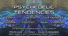Party Flyer Psychedelic Tendencies 2 Aug '19, 19:00
