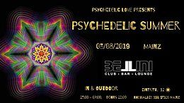 Party Flyer PSYCHEDELIC SUMMER 2019 3 Aug '19, 22:00