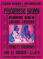 Party Flyer Psychedelic Saloon @ Sektor Heimat 3 Aug '19, 23:30