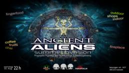 "Party Flyer Ancient Aliens ""Summerinvasion"" 10 Aug '19, 18:00"