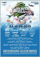 Party Flyer Heaven & Hill Festival 10 Aug '19, 12:00