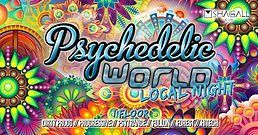 Party Flyer Psychedelic World   Local Night 10 Aug '19, 23:00