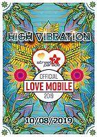 Party Flyer Street Parade 2019 - HIGH VIBRATION LOVEMOBILE 10 Aug '19, 12:00