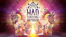 Party Flyer WAO FESTIVAL 2019 - 5th Edition 13 Aug '19, 10:00