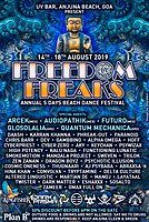 Party Flyer FREEDOM FREAKS 2019 EDITION 14 Aug '19, 18:00