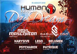 Party Flyer Human revolution day dream 17 Aug '19, 11:00