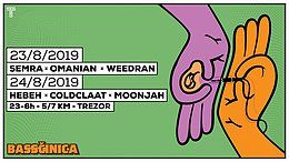 Party Flyer Bassčinica Weekender w/ Semra - Omanian - Weedran 23 Aug '19, 23:00