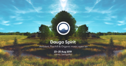 Party Flyer Dauga Spirit – Psychill, Ambient, Organic music open-air 23 Aug '19, 17:00