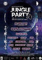 Party Flyer Jungle Party Vol 2 23 Aug '19, 18:00