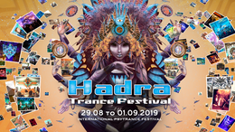 Party Flyer Hadra Trance Festival 2019 29 Aug '19, 14:00