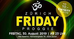 Party Flyer FRIDAY PROGGIE 30 Aug '19, 23:00