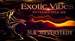 Party Flyer Exotic Vibes Open Air 31 Aug '19, 19:00