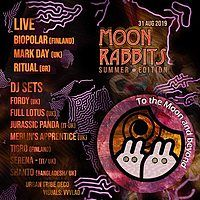 Party Flyer Moon rabbits summer edition 31 Aug '19, 01:00