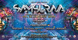 Party Flyer ·•●❂ Samsuraa ❂●•· 31 Aug '19, 21:00