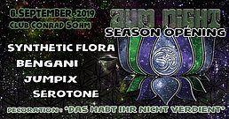 Party Flyer ✮ ✮ AUM NIGHT - Season Opening ✮ ✮ 6 Sep '19, 22:00