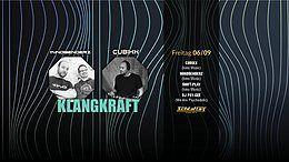 Party Flyer Klangkraft W/ Mindbenderz & Cubixx 6 Sep '19, 22:00