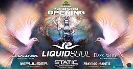Party Flyer Psybox - Season Opening ॐ with LIQUID SOUL - DARK WHISPER - STATIC MOVMENT ..... 6 Sep '19, 22:00
