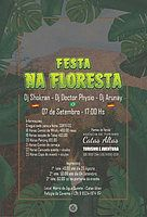 Party Flyer Festa na Floresta 7 Sep '19, 17:00