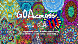 Party Flyer GOAcross with DnB III 7 Sep '19, 23:00