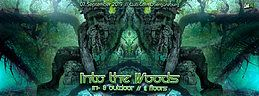 Party Flyer Into The Woods / In&Outdoor / 4 Floors 7 Sep '19, 16:00