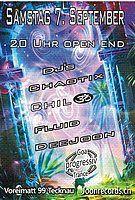 Party Flyer Proggi Goa Trance 7 Sep '19, 20:00